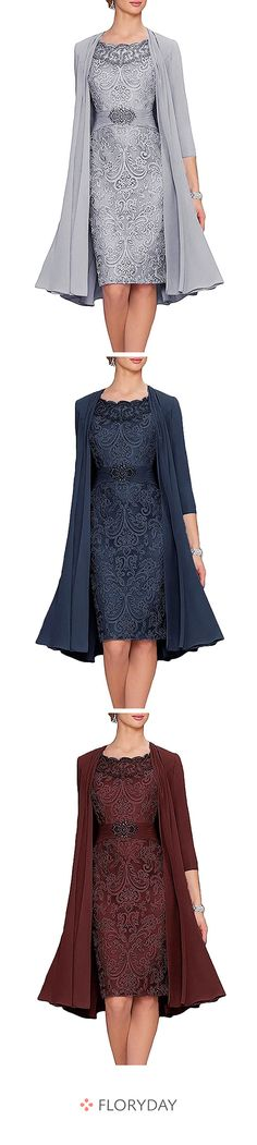 Knee-length dress with wrap sleeves - Floryday Knielanges Kleid mit Wickelärmel Time to make your beauty shine. Cute Outfits With Jeans, Casual Fall Outfits, Leather Leggings Look, French Outfit, Types Of Skirts, Crop Top And Shorts, Groom Outfit, Fast Fashion, The Dress