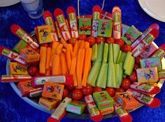 TEMA: Ingen sukker til fødselsdagen - dr.dk/arkivP4/Syd/Nyheder/Sønderborg Candy Recipes, Baby Food Recipes, Healthy Recipes, 4th Birthday, Birthday Parties, Ninja Party, Eid, Kids Meals, Art For Kids