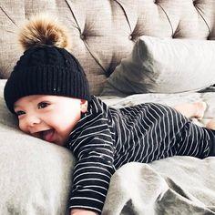 168f5752d1cc9f Baby wool beanie/Baby pom beanie/Baby beanie/Toddler beanie/Baby winter