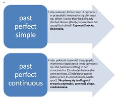 PAST PERFECT SIMPLE vs PAST PERFECT CONTINUOUS | porównanie czasów