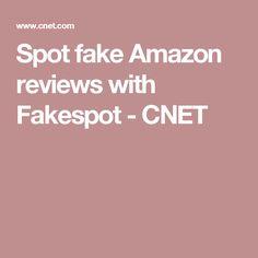 Spot fake Amazon reviews with Fakespot - CNET
