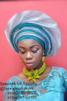 Welcome to d world of intensive gele tutorial