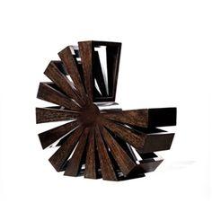 Artextural - Mahogany Magazine Rack