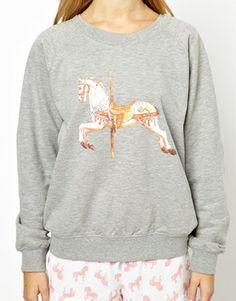 Chelsea Peers Carousel Horse Sweater