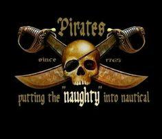 pirate Skull - putting the naughty into nautical Pirate Signs, Pirate Decor, Pirate Art, Pirate Skull, Pirate Life, Pirate Theme, Pirate Woman, Pirate Quotes, Pirate Photo
