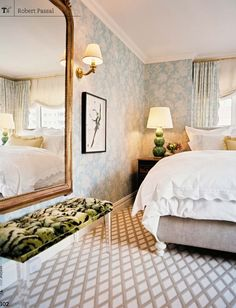 Updated New York Apartment with Classic Style - Romantic Master Bedroom Design. Updated New York Apartment with Classic Style – Romantic Master Bedroom Design Ideas – Romantic Master Bedroom, Feminine Bedroom, Master Bedroom Design, Beautiful Bedrooms, Home Bedroom, Bedroom Decor, Bedroom Classic, Bedroom Designs, New York Bedroom