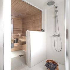 Bathroom Toilets, Basement Bathroom, Gym Showers, Portable Sauna, Steam Sauna, Sauna Room, Saunas, Beautiful Bathrooms, Future House