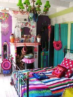 Gypsy Bedroom Ideas | cute bohemian bedroom ideas