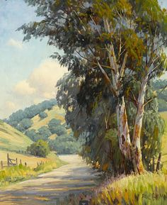 PAUL A. GRIMM (1891-1974) -  Delightful region, 1939