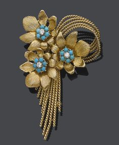14k Yellow Gold .60ct Round Sapphire & .33ct Round Emerald Butterfly Pin Brooch Discounts Sale Fine Jewelry