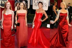 Dresses Worn at Red Carpet Event