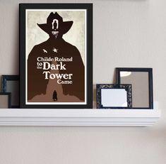The Gunslinger  Dark Towers  Stephen King Inspired  by FADEGrafix, $11.95