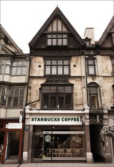 in England starbucks