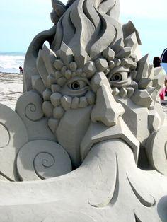 Sand art~ Texas