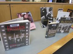 Check out our display of books about The Beatles!