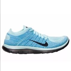 sports shoes e7734 9f91e New Nike Free 4.0 Flyknit Women s Running Shoes Nike Free Flyknit 4.0 -  Glacier Ice