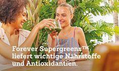 Grüner Superfood-Drink mit Aloe Vera Forever Aloe, Gel Aloe, Aloe Vera Gel, Superfood, Stress, Jus D'orange, Super Greens, Anti Aging, Corona