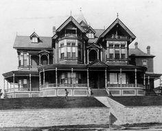 Bunker Hill Los Angeles 1910 | Brunson Mansion - 347 South Grand Avenue | On Bunker Hill