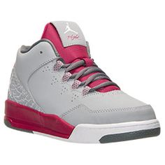 SALE $49.95 Girls' Preschool Air Jordan Flight Origin 2 Basketball Shoes | Finish Line WAS $69.98