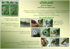 """Cristalline fimo, tuto et bijoux en polymère: Tuto """"outil pour le clay gun"""""""