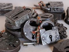 View our Antique Iron Padlock currently featured in the new Dumbo movie.