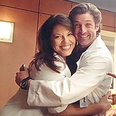 Patrick and Sara I miss them so much the show is not the same without them