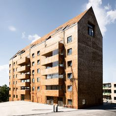 Swedish architecture office Wingårdhs has designed an eight-storey residential building constructed entirely from wood in the Stockholm suburb of Sundbyberg.