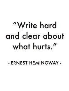 You will never stop writing then.