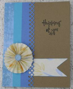 Card: Thinking of you