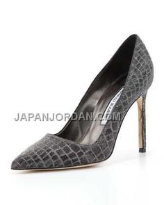 https://www.japanjordan.com/manolo-blahnik-metallic-crocprint-bb-pump-gray-silver.html 送料無料 MANOLO BLAHNIK METALLIC CROC-PRINT BB PUMP グレー 銀 Only ¥20,805 , Free Shipping!