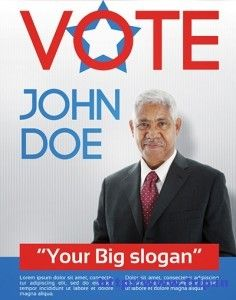 Jane-Political-Flyer-&-Mailer-Template | Political Poster/Flyer ...