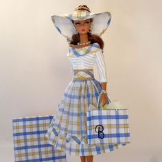 "OOAK Handmade Vintage Barbie/Silkstone Fashion by Roxy- ""SUMMER COTTAGE""  #Roxy"