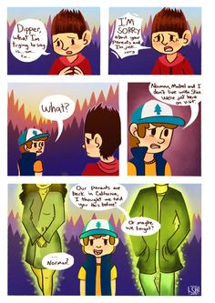 Norman and Dipper, awww I get it!!! This is so sad