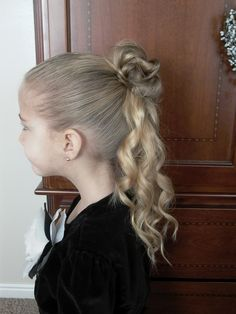 Little girls hairstyles half bun curly updo video tutorial hair little girl updos tutorial videos how to do little girls hairstyles pmusecretfo Gallery