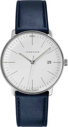 @junghansgermany  Watch Max Bill Gents Quartz #best-seller-yes #bezel-fixed #bracelet-strap-leather #brand-junghans #case-depth-7-9mm #case-material-steel #case-width-38mm #date-yes #delivery-timescale-7-10-days #dial-colour-silver #gender-mens #luxury #movement-quartz-battery #official-stockist-for-junghans-watches #packaging-junghans-watch-packaging #style-dress #subcat-max-bill #supplier-model-no-041-4464-01 #warranty-junghans-official-2-year-guarantee #water-resistant-waterproof