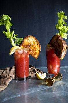 Serve your grilled cheese with a Bloody Caesar instead of a side soup. Perfect lunch for a hot #summer.