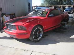 Get used parts from this 2005 Ford Mustang, Stk#R15537 at AutoGator.com