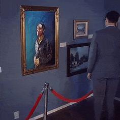 When art comes alive