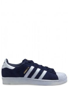 best website 2ab10 ba52b Adidas Superstar Suede Damen Schuhe marine