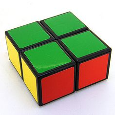 RARE Custom Made Black 1x2x2 122 Plastic Magic Cube Twist Puzzle Toy Brainteaser   eBay