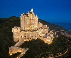 21 Pics That Are Just Plain Fascinating. Castle Hotel in China.