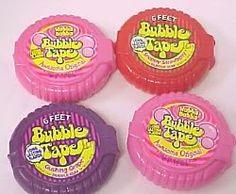 Bubble tape!