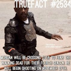 """6,707 Likes, 296 Comments - If I Posted It.. Its True. (@twdtruefacts_) on Instagram: """"Watched Talking Dead? Did they spoil Morgan's Death...!? #TWD #WalkingDead #TheWalkingDead"""""""