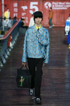 Louis Vuitton Men's Spring/Summer 2021 Collection Runway | HYPEBEAST