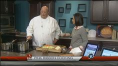 Watch Gina Bullard and Chef Curtiss from Pink Ribbon Cooking™ prepare its signature 20 Minute Vegetable Soup.