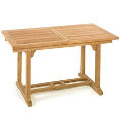 Luxury TL Cairo Holztisch Gartentisch Tisch Ausziehtisch Teak Holz cm in Garten u