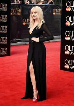Singer @ Pixie Lott  - The Olivier Awards 2015 in London