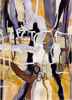"""Saatchi Art Artist Gail Lee; Painting, """"A Secret Code"""" #art"""