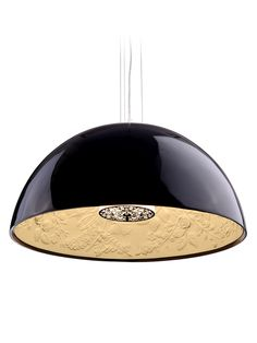 Atmosphere Ceiling Lamp from Design Essential: Back to Black on Gilt