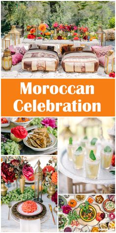 Reduce the stress of hosting at home with Enjoius party plans. Theme Parties, Party Themes, Party Ideas, Moroccan Party, Adult Birthday Party, Outdoor Parties, Holidays And Events, Holiday Parties, Party Planning